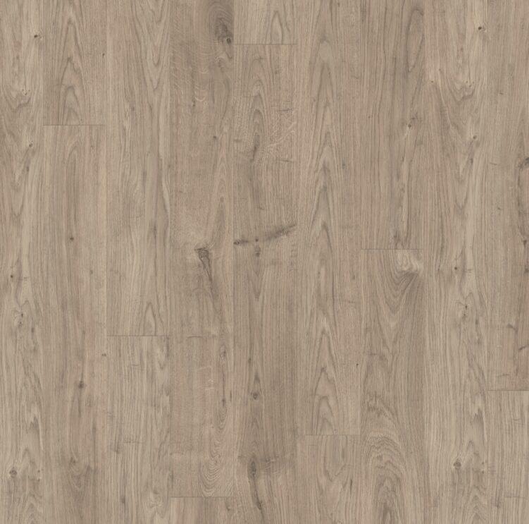 Дуб серый теплый рустикальный коллекция Rustic ламинат Quick-Step
