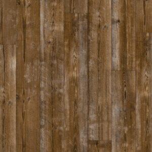 Винил ПВХ Quick-Step коллекция Pulse Click Коричневая сосна