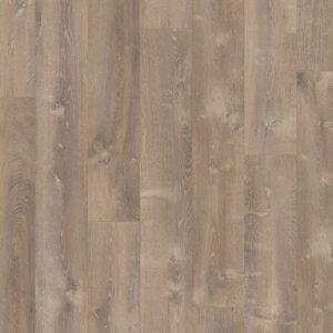 Винил ПВХ Quick-Step коллекция Pulse Click Дуб песчаный теплый коричневый