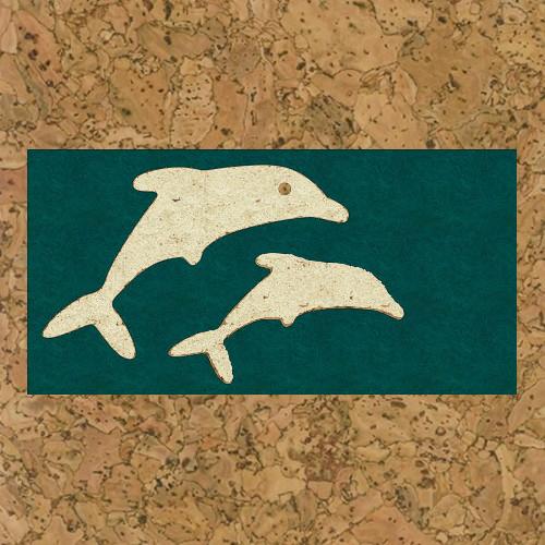 пробка декоративная дельфины