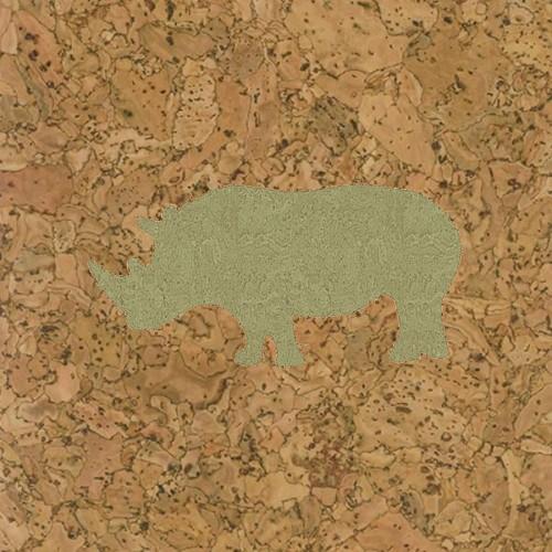 пробка декоративная носорог