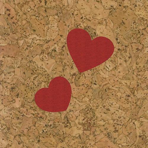 пробка декоративная сердечки