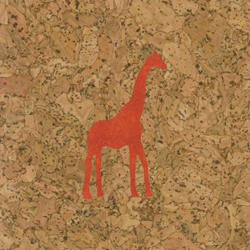 пробка декоративная жираф