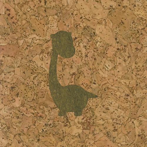 пробка декоративная динозаврик