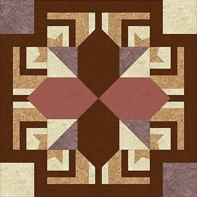 пробковая розетка квадрат