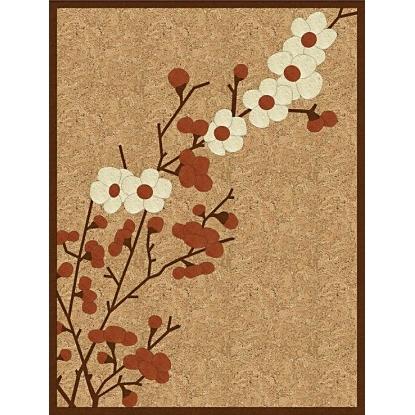 пробковая розетка цветы