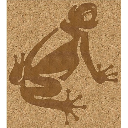 пробковая розетка лягушка