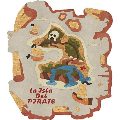 пробковая розетка пиратская карта