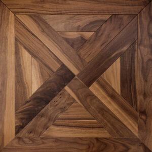 Модульный паркет Coswick Трианон Натуральный Американский Орех Традишинал