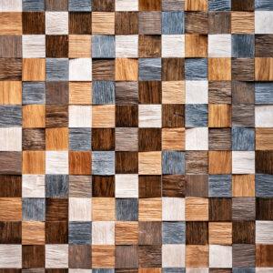 Стеновая панель Карелия-Упофлор Pixel Дуб