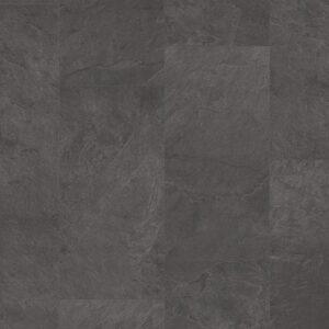Винил ПВХ Quick-Step коллекция Ambient Click Сланец чёрный