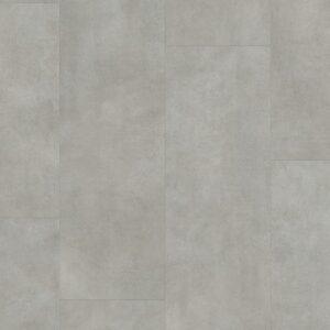 Винил ПВХ Quick-Step коллекция Ambient Click Бетон тёплый серый