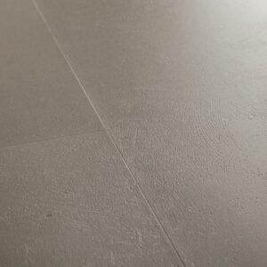 Винил ПВХ Quick-Step коллекция Ambient Click Шлифованный бетон темно-серый